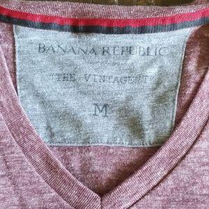 Banana Republic Shirts - Banana Republic Men's V Neck The Vintage T